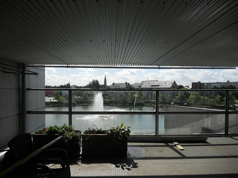 Metaalconstructies - plafond terras