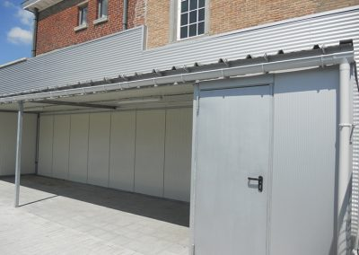 Maatwerk in aluminium - carport