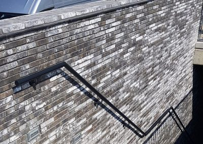 Aluminium zwart trapreling
