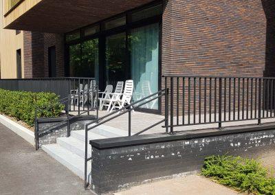 Aluminium balustrade - reling - NDR Constructies