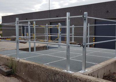 Stalen afsluiting - hek - balustrade NDR Constructies